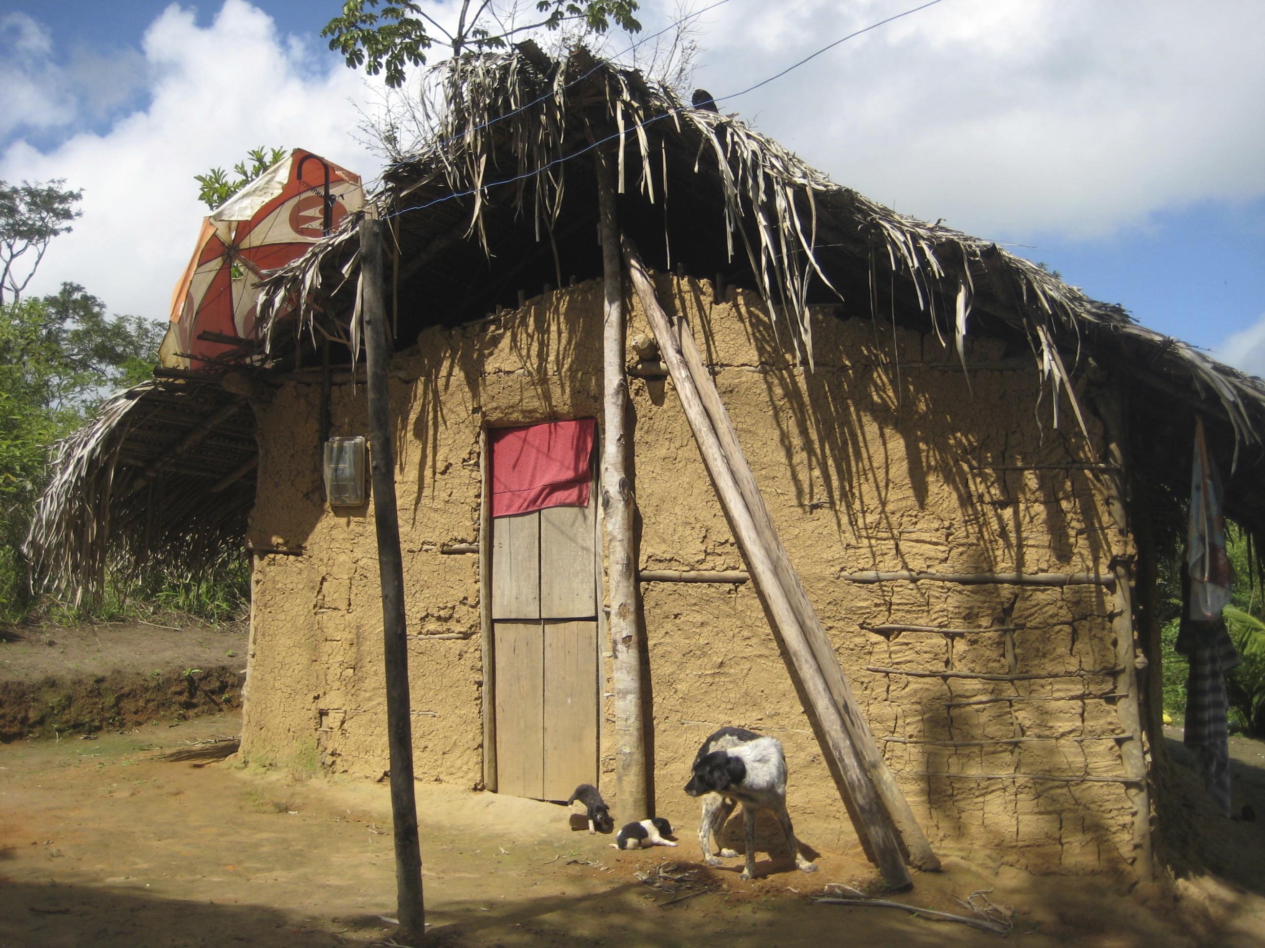 Serra da Barriga inhabitants' house. Photo by Maria Fernanda Escallón.